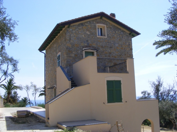 Restoration of the stone house, Liguria