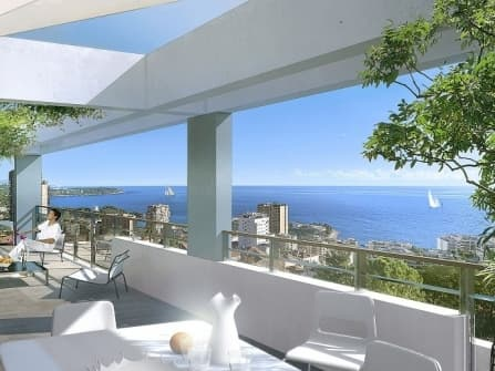 New fabulous sea view apartment in Beausoleil