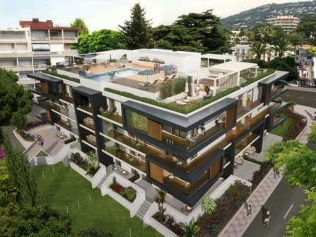 New fabulous apartments for sale in Cannes