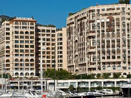 Прекрасная квартира с видом на море в Монако