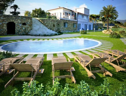 San Batolomeo al mare villa for sale