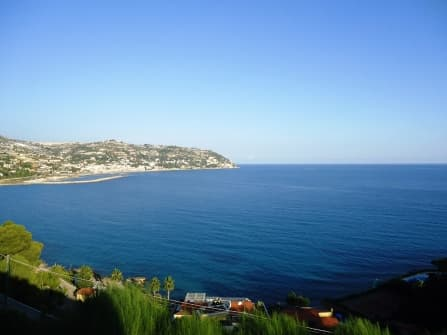 Magnificent sea view land in Bordighera