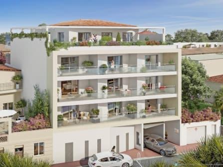 Новая квартира в центре Канн на продажу