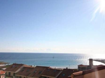 Fabulous sea view penthouse in Imperia