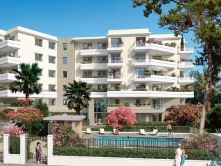 Новые квартиры в Антибах-Жуан-ле-Пен Франция