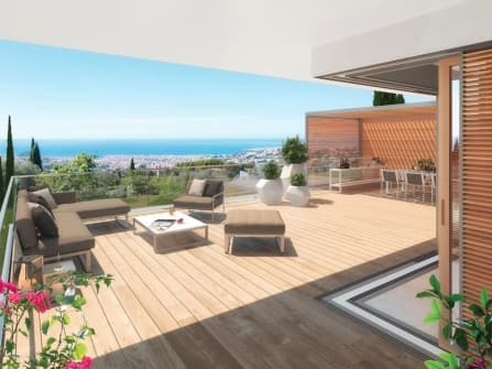 New luxury residence in Nice