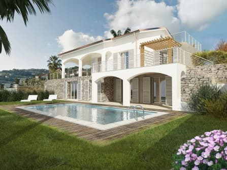 Sanremo Villa Sea View For Sale