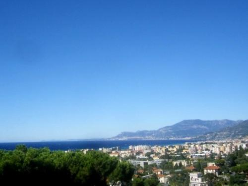 Bordighera Apartment With Sea View For Sale