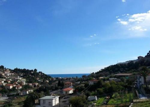 Bordighera apartment for sale sea view