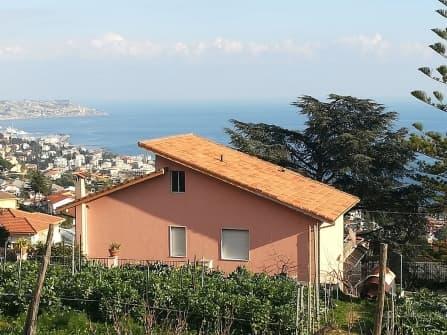 Sanremo Villa zum Verkauf Meerblick