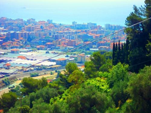 Camporosso, villa sea view for sale