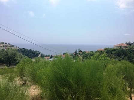 Land zum Verkauf in Sanremo Meerblick
