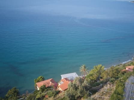 Ventimiglia seafront land for sale