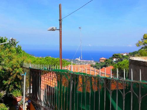 Sanremo apartment in villa for sale