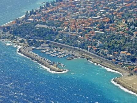 Bordighera vente mur commerciale