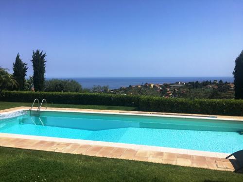 Sanremo Meerblick Villa zu verkaufen