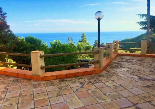 Ventimille villa vue mer a vendre