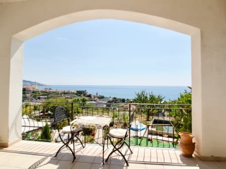 Sea View Villa for Sale in Sanremo