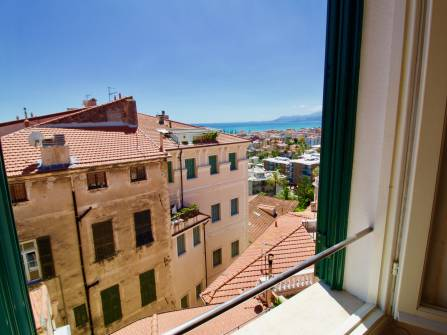 Bordighera alta sea view apartment