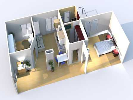 Ventimiglia four room apartment for sale