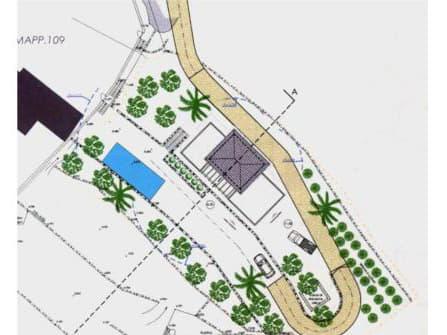 Terreno con progetto Bordighera
