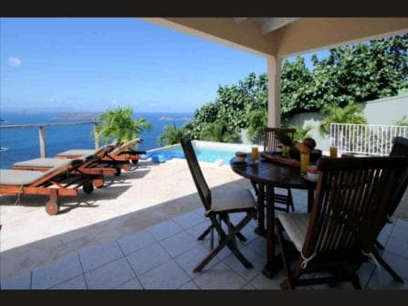 Сент-Бартелеми Вилла на Карибском море