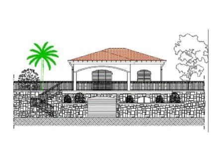 Bordighera Villa in Construction