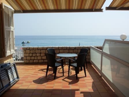 Bordighera Apartment on the Sea For Rent
