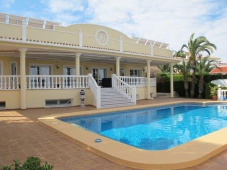 Fabulous sea view villa for sale in Denia