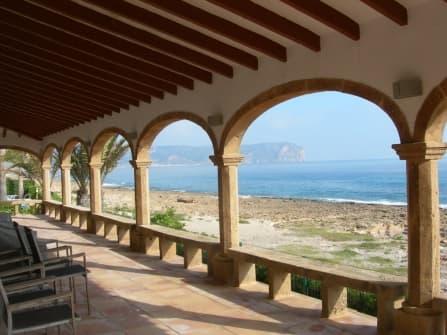 Sea front villa for sale in Javea