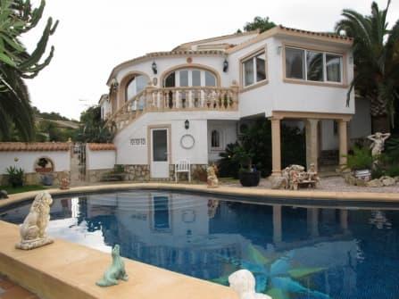 Charming villa for sale in Javea Spain