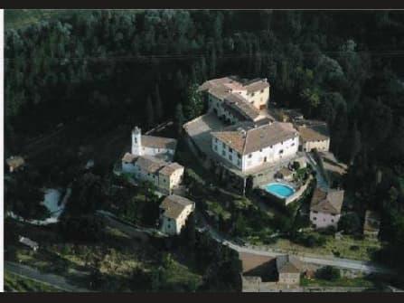 Elegant decorated apartment in a castle