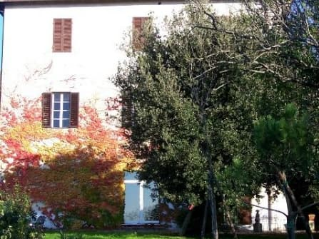 Historical XIX century villa with green