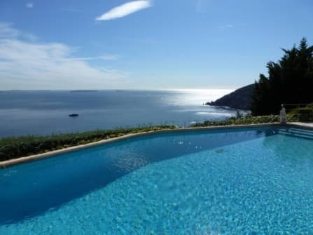 Villa with superb seaviews in Theoule-sur-Mer