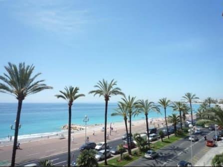 Sea view apartment on Promenade des Anglais