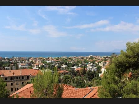Bordighera Luxury Villa Sea View For Sale
