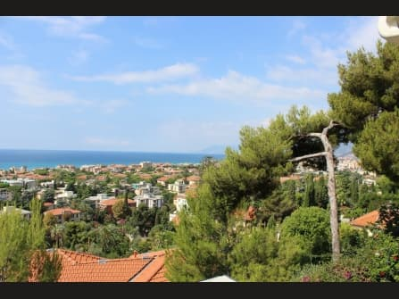 Bordighera Luxury Apartment Sea View For Sale