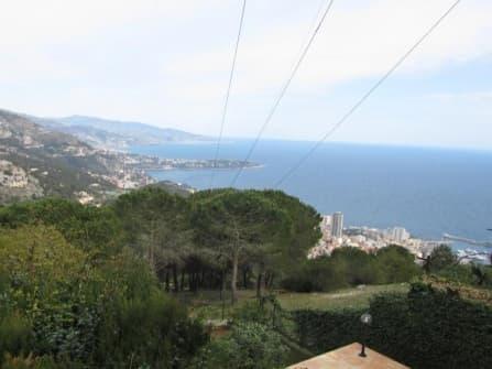 Villa vista mare in vendita a La Turbie