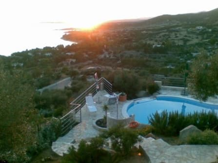 Sea view villa for sale in Capitana Sardinia