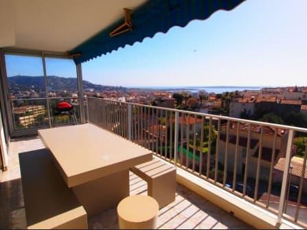 Квартира с видом на море на продажу в Каннах
