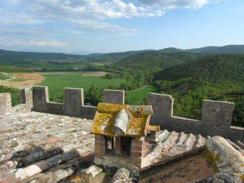 Исторический замок Тоскана
