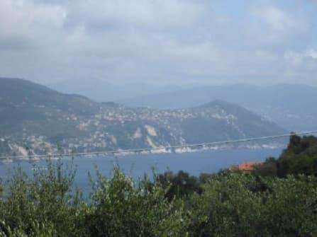 Fantastic sea view land for sale in Portofino