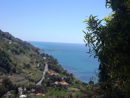 Вилла на побережье в Вентимилье (Лигурия)