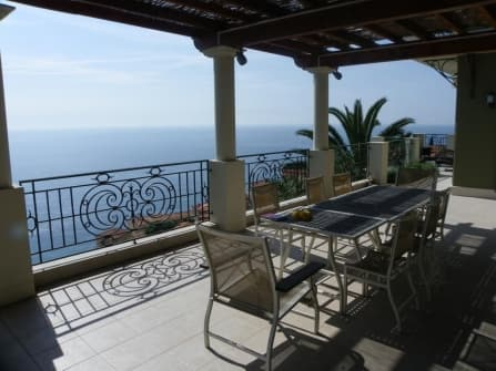 Sea view villa in Roquebrune-Cap-Martin