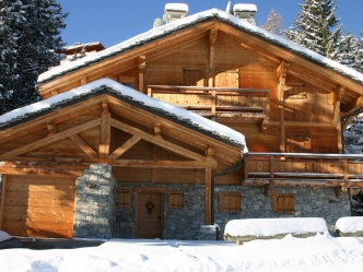 Luxury chalet for rent in Courchevel 1850