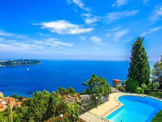 Sea view villa in Roquebrune-Cap-Martin