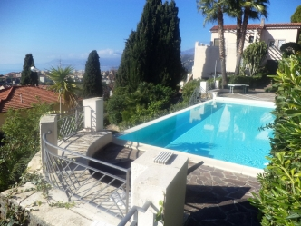 Bordighera seaview apartment for sale
