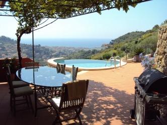 Bordighera seaview villa for sale