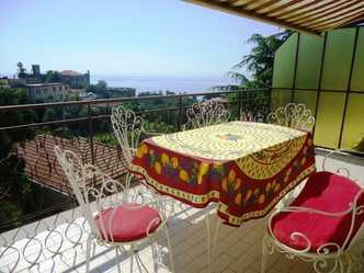 Квартира с видом на море в Санремо - Буссана