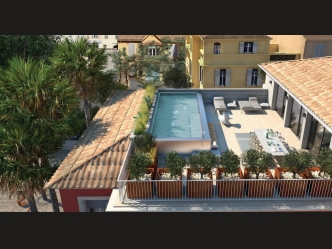New luxury apartments in Saint Tropez